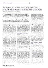 Patienten brauchen Informationen - Klinikum Dortmund