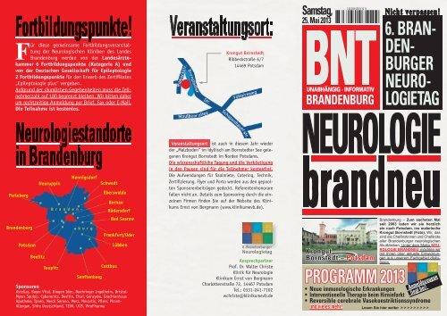 Einladung | Programm - Ernst von Bergmann