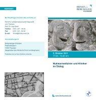 Nuklearmediziner und Kliniker im Dialog - Ernst von Bergmann