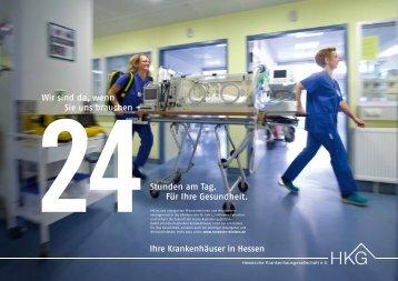 Plakatmotive - Klinikum Frankfurt Höchst