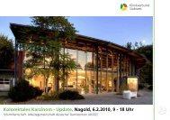 Kolorektales Karzinom - Update, Nagold, 6.2.2010, 9 - 18 Uhr