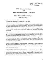 Entgelttarif (KHEntgG) - Klinikverbund-Südwest