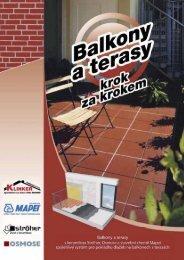 balkóny - KLINKER Centrum sro