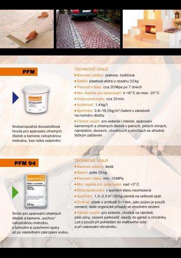 Pracovní postupy malty QM - KLINKER Centrum sro