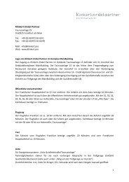 Wegbeschreibung (PDF, 66 kB) - Klinkert Zindel Partner