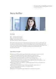 Nora Keßler - Klinkert Zindel Partner