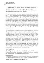 Einführung - Julius Klinkhardt