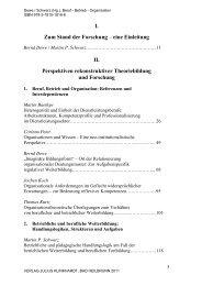 Beruf Betrieb Organisation - Julius Klinkhardt