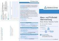 Mess- und Prüfmittel- überwachung - Klinkner & Partner GmbH