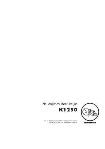 OM, K1250, Husqvarna, LT, 2006-12