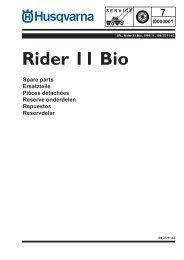 IPL, Rider 11 Bio, 1999-11 - Husqvarna