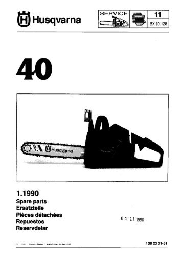IPL, 40, 1990-06, Chain Saw - Husqvarna