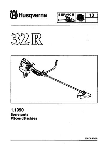 IPL, 32 R, 1990-01, Brush Cutter - Husqvarna