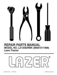 IPL, Lazer, LZ13592RBK, 96061011906, 2009-01, Tractor - Klippo