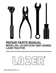 IPL, Lazer, LZ145H107AK, 96011029900, 2010-09, Tractor - Klippo