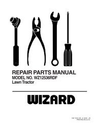 repair parts - Klippo