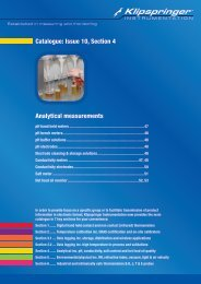 Catalogue: Issue 10, Section 4 Analytical measurements - Klipspringer