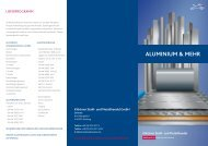 ALUMINIUM & MEHR - Klöckner Stahl