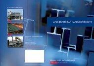 ANARBEITUNG LANGPRODUKTE - Klöckner Stahl