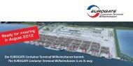 Der EUROGATE Container Terminal Wilhelmshaven ... - KLOK eV