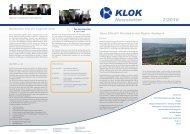 Newsletter 2/2010 - KLOK