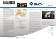 Newsletter 1/2010 - KLOK