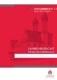 Jahresbericht_2012 - Kloster Benediktbeuern