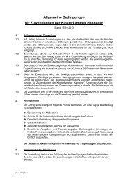 PDF | 114 kB - Klosterkammer Hannover