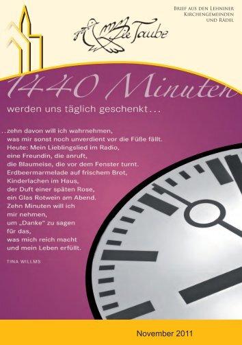 November 2011 - Evangelische St. Marien ...