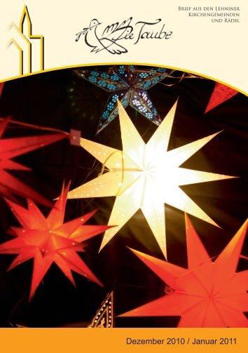 Dezember 2010 / Januar 2011 - Evangelische St. Marien ...