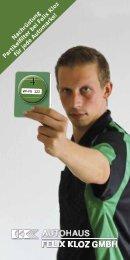 Nachrüstung Partikelfi lter bei Felix Kloz für jede ... - Felix Kloz GmbH