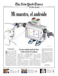Las nuevas máquinas pueden dar clases e incluso ... - Prensa Libre