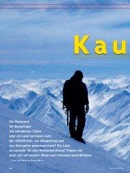 Ein Reiseland für Bergsteiger mit attraktiven Zielen oder ... - Achi Tours