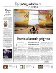 The New York Times - Prensa Libre