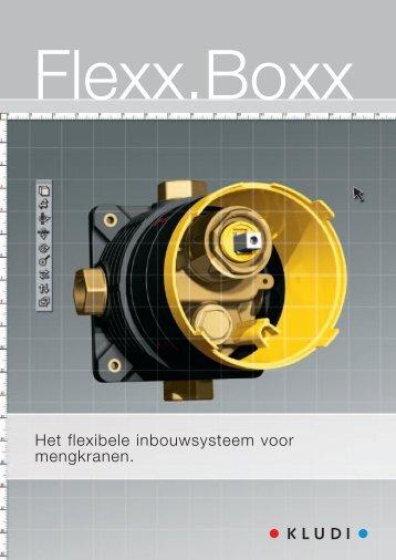 Het flexibele inbouwsysteem voor mengkranen. - kludi