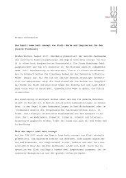 Presse Information Das Esprit home bath concept von Kludi: Marke ...