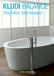 Perfekte Harmonie - Kludi GmbH & Co. KG