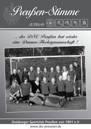 Clubhaus der Fußball- ,  Hockey- und ... - DSC Preußen von 1901 e.V.