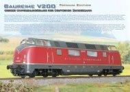 Auszug aus dem Katalog Fahrzeuge 2012 zur V200