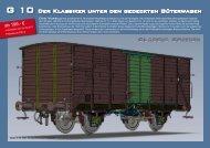 G 10 Der Klassiker unter den gedeckten Güterwagen