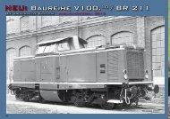 Auszug aus dem Katalog Fahrzeuge 2012 zur V100