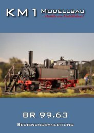 Baureihe 99.63 - KM1 Modellbau