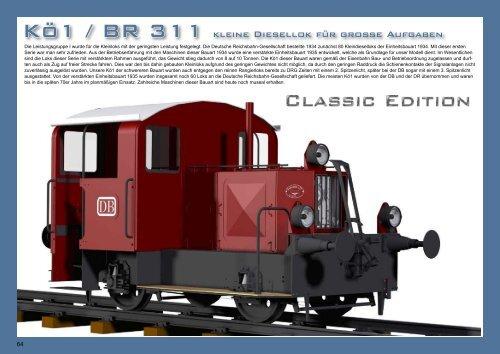 Auszug aus dem Katalog Fahrzeuge 2012 zur Kö1