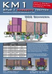 Spur 1 Angebote treffen - KM1 Modellbau