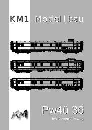 Pw4ü 36 - KM1 Modellbau