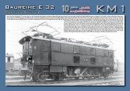 Flyer der E 32 zum Download - KM1 Modellbau