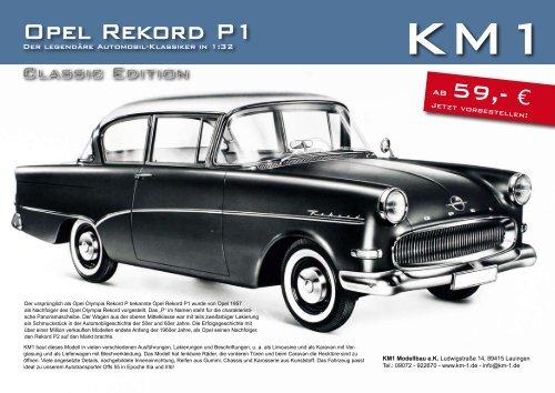 Flyer Opel Rekord P1