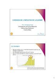 Chronisch lymphatische Leukämie