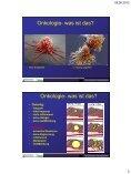Die Rolle der internistischen Onkologie bei fortgeschrittenen ... - Seite 3