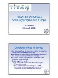 TITAN: Ein innovatives Schulungsprogramm in Europa ...